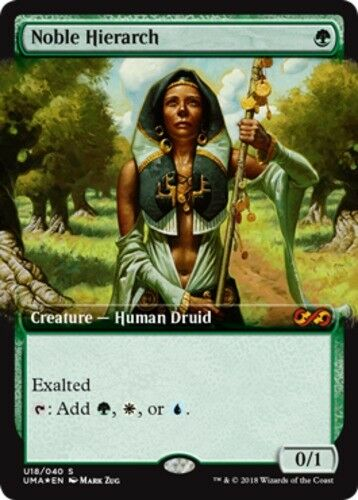 1x 1x 1x Noble Hierarch - Foil MTG Ultimate Masters  Box Toppers NM -ChannelFireball- f6a685