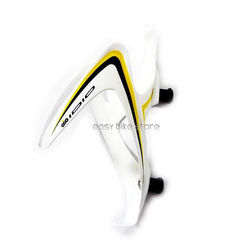 BLACK  IDIO UD Carbon Water Bottle Cage BIKE MTB ROAD 333 YELLOW WHITE