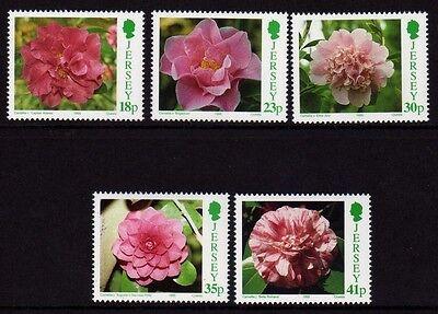 Europa Briefmarken Jersey 1995 Camellias Sg 693-697 Mnh HüBsch Und Bunt