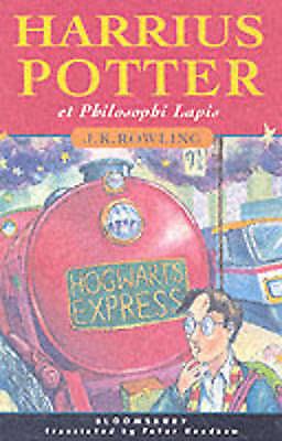 Harrius Potter Et Philosophi Lapis Latin Harry Potter & the Philosopher's Stone