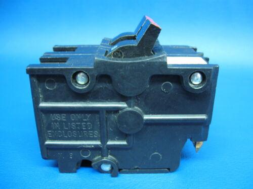 "Guaranteed NICE 15A FEDERAL PACIFIC FPE Stab-Lok 15 Amp 2 Pole 2/"" BREAKER"