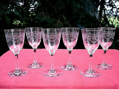 Baccarat Beauharnais Wine Glasses WeinglÄser WeinrÖmer Verre A Vin Cristal Grave