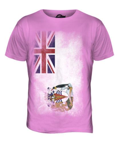BRITISH ANTARTIC TERRITORY FADED FLAG MENS T-SHIRT TEE TOP FOOTBALL GIFT SHIRT