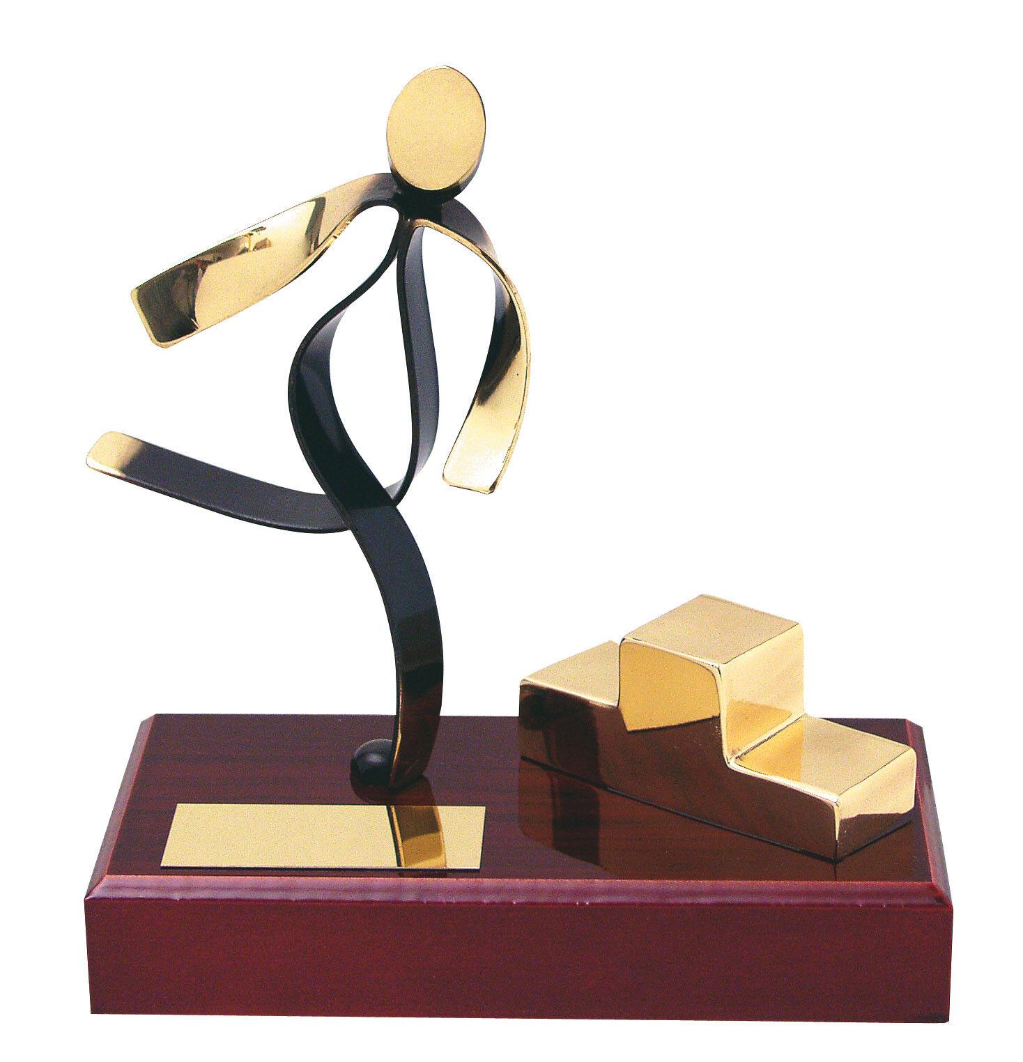 Fatto a mano in metallo Athletics trofeo regalo di alta alta alta qualità spedizione gratuita  Incisione Gratuita 3e364f