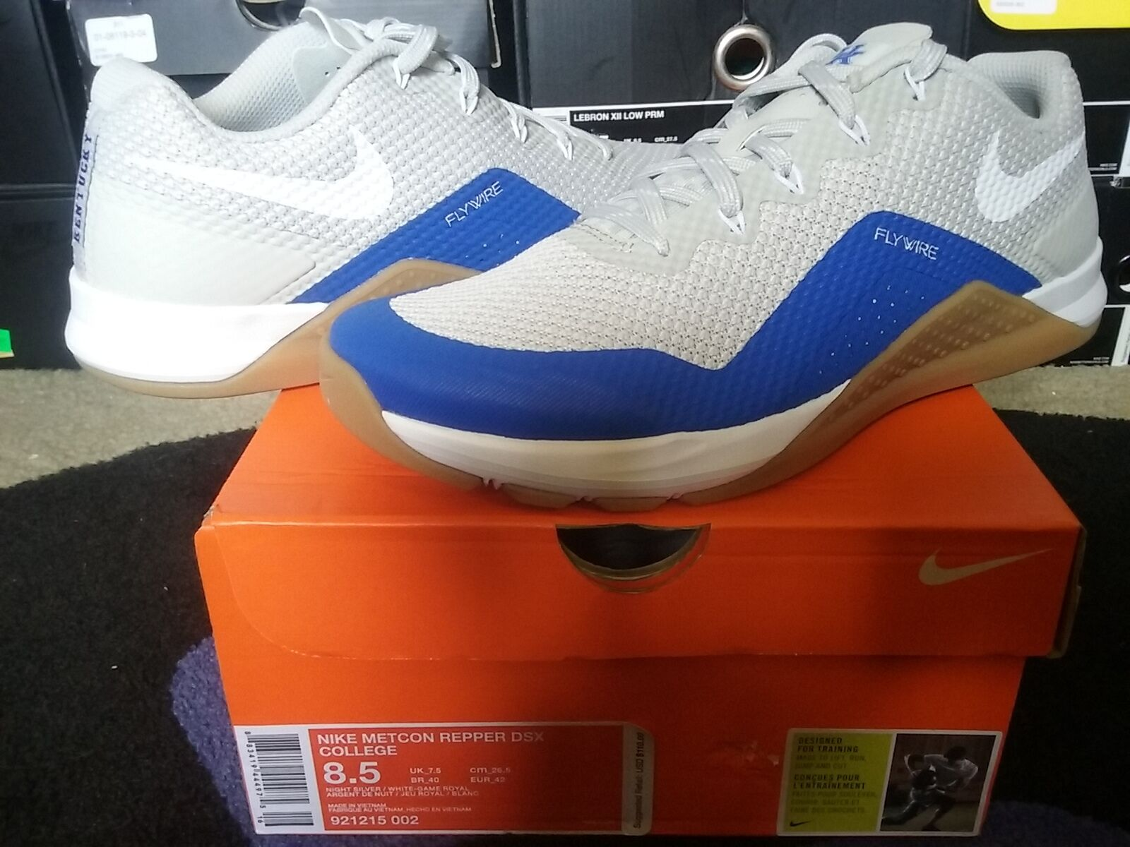 Nike Air Zoom Metcon Repper DSX College UK Kentucky Wildcats Go Cats 921215 002