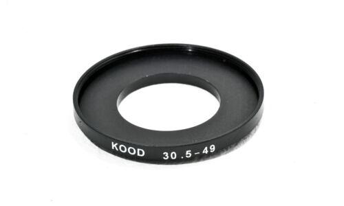 Anillo de versión 30.5mm-49mm 30.5-49 anillo adaptador de filtro paso para arriba
