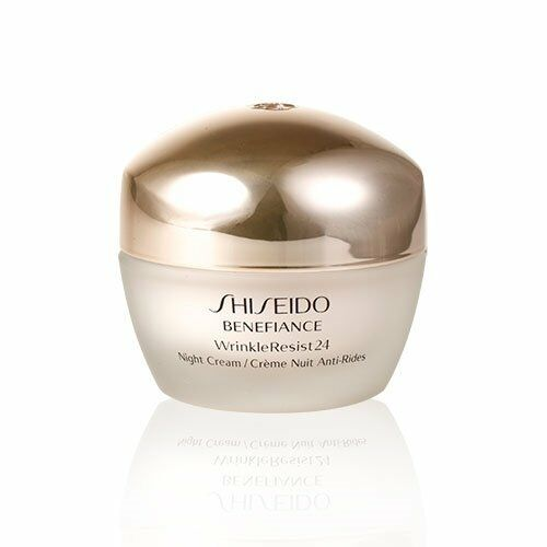 Shiseido Benefiance WrinkleResist24 Night Cream 50ml Dry Skin Anti-Wrinkle NEW
