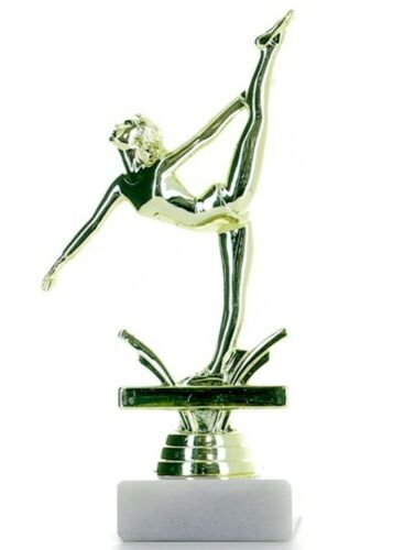 Gymnastics Trophies Female Gymnastic Figure Trophy 5 sizes FREE Engraving