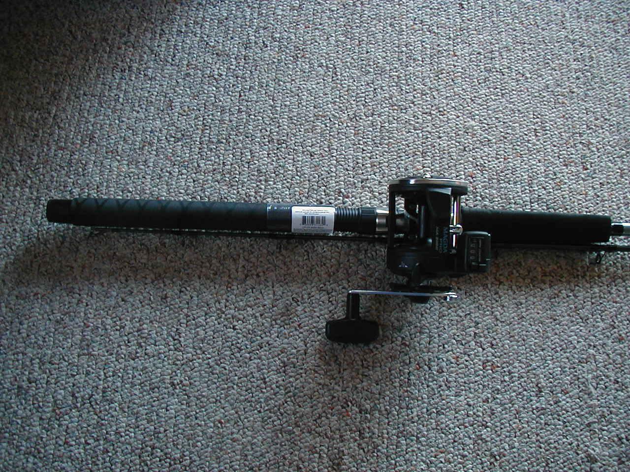 Okuma Great Lakes Trolling Combo MA30DX 8' 6  2-Piece Rod