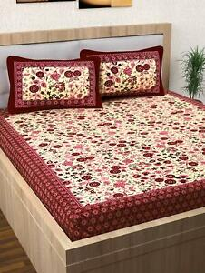 Details About Indian Paislet Bed Cover Sheet Modern Decor Bedding Throw Coverlet Set