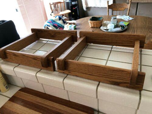Custom Made Mahogany Speaker Stands for JBL L36 Series Speakers
