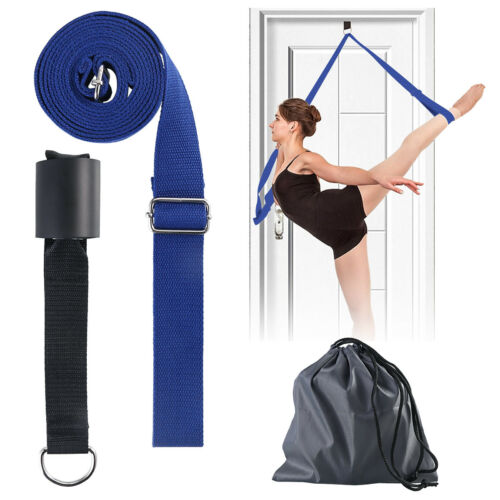 Leg Stretcher Door Stretch Band Ballet Yoga Dance Cheer Gymnastics Training Belt