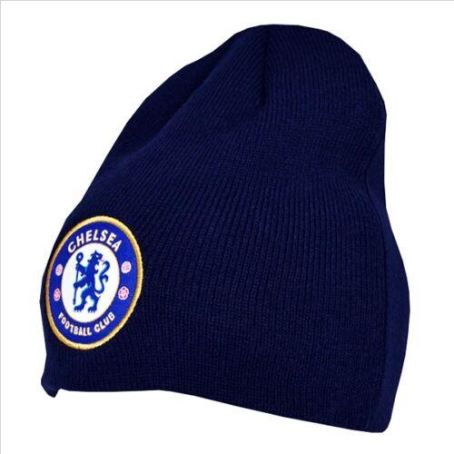 Official Chelsea Football Club Blue Basic Beanie Winter Hat