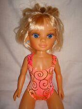 "Handmade Leotard and ideal for Nancy Muneca 12""/14"" Fashion doll Orange sa"