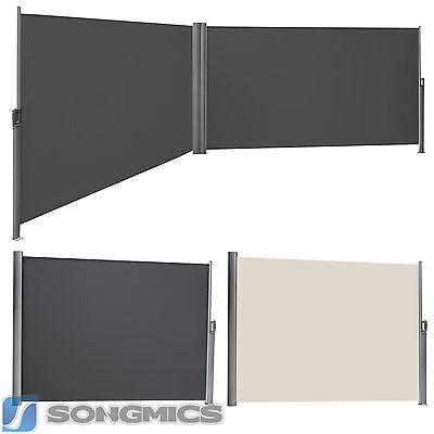 Seitenmarkise Seitenrollo Markisenstoff aus Polyester 280 g/m² TÜV geprüft