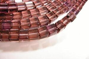 1 of 12 inch strand 6mm cubic glass beads-2615