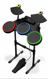Details about NEW PS3 Guitar Hero World Tour Wireless Drums Drum Set Kit  PlayStation 3