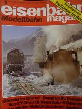 Eisenbahn Modellbahn magazin n°1 982 - H0 Anlagenplan Ivo Cordes Im revie- Tr.22