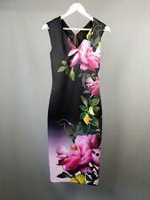 14726ac85ba567 item 5 Ted Baker Oldiva dress Floral wiggle midi bodycon Size 1 UK 8 -Ted  Baker Oldiva dress Floral wiggle midi bodycon Size 1 UK 8