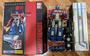 Hasbro Toys R Us Transformers Optimus Prime Masterpiece MP-10 Figure Authentic
