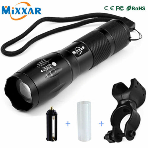 LED 8000 Lumen Bicycle Light 5 Modes XM-L T6 Bike Lights Front Torch Water