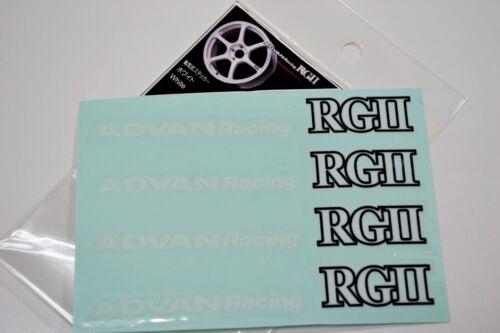 ADVAN RACING RG2 DECAL STICKER #AR002