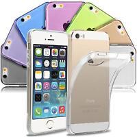 Handy Hülle Apple iPhone 5 / 5S SE Case Schutz Cover Silikon Ultraslim Tasche