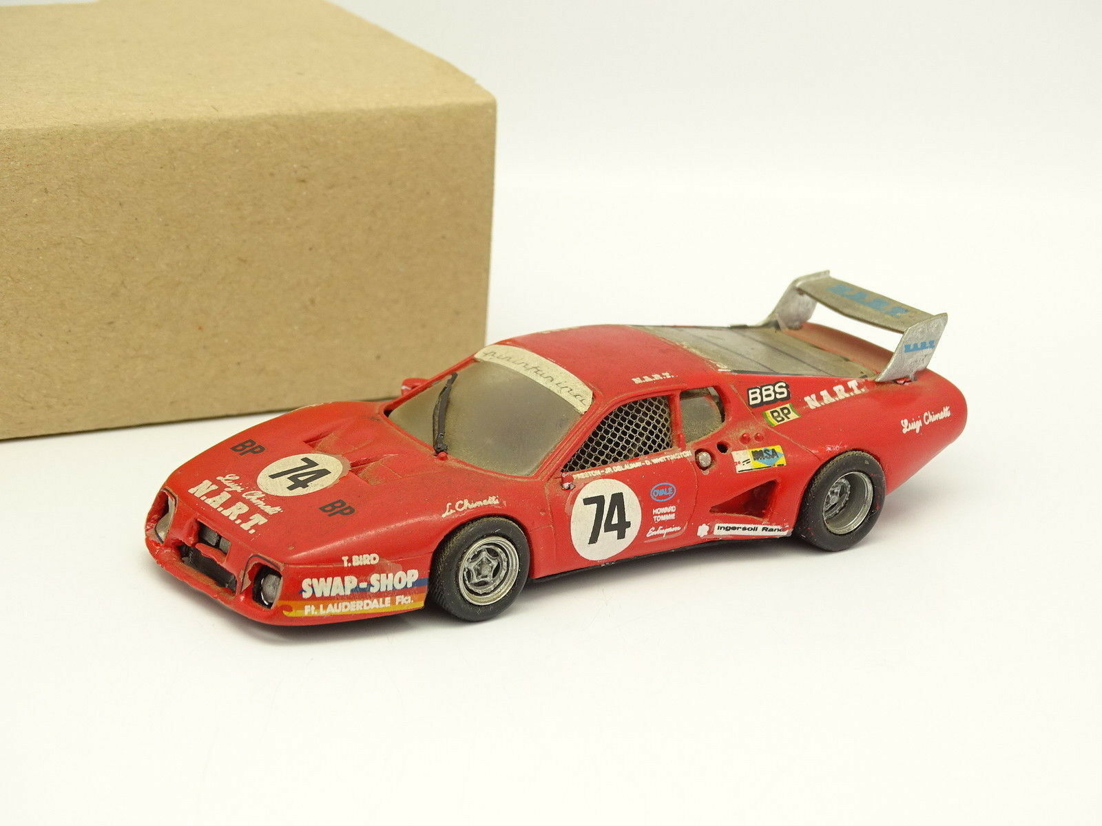 AMR Kit Monté Métal 1 43 - Ferrari 512 BB Le Mans 1980 N°74 NART