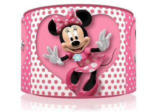 Captivating Image Is Loading PINK HEART MINNIE MOUSE LIGHT CEILING LAMP SHADE