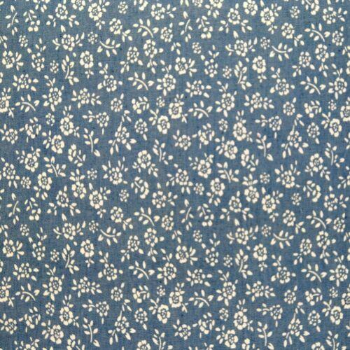 Printed Denim 100/% Cotton Fabric Dressmaking Floral /& Animals 30 Designs