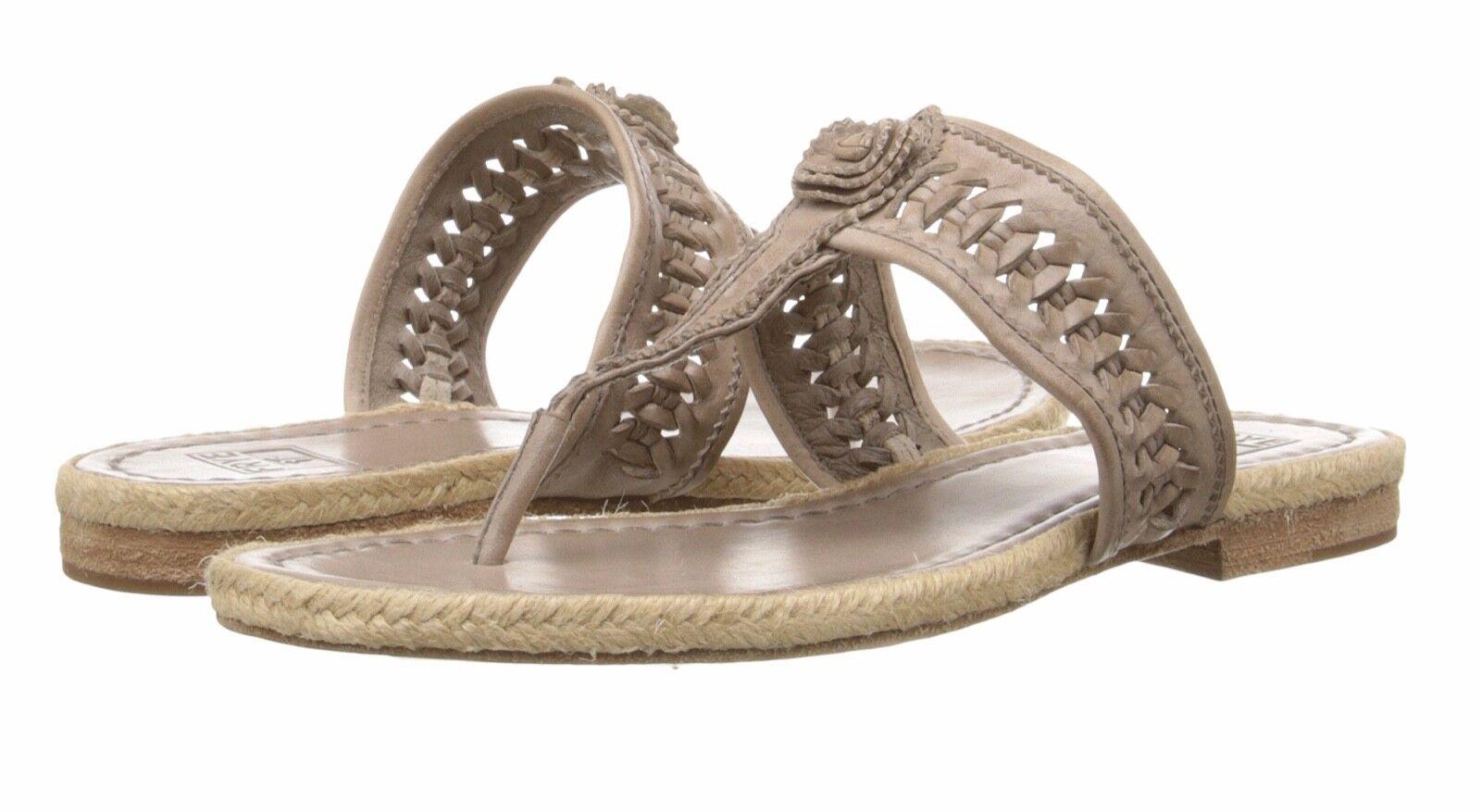 FRYE 72577 Women's Cleo Concho Thong  Sandals 9.5 9 1/2  (M) Grey Beautiful