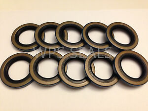 34823 12192TB Double Lip Seals for 2000lb Trailer Axles BT8 Spindle Qty 4