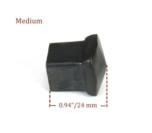 Cabinet Drawer Pull Knob SQUARE Wrought iron Kitchen Cupboard Door Rustic Black