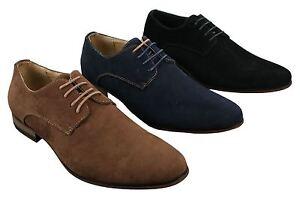 Chaussures homme chic avec Détails daim Nubuck et simili lacets décontracté style sur 8wOknXP0