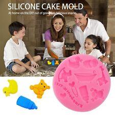 Cake Mold Fondant Mould Baby Bottle Bear Giraffe Baking Tools Cartoon Mould BN