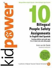 10 Bilingual People Safety Assignments in English and Spanish : Teaching...