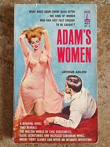 Arthur-Adlon-ADAMS-WOMEN-Beacon-Signal-B561F-1962-GGA-Sleaze-Romance-L-K-WOW
