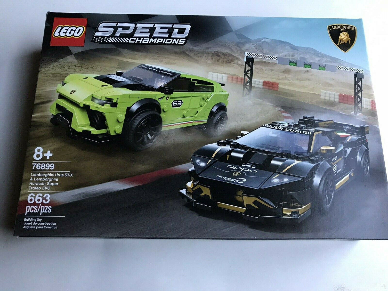 NEW LEGO 76899 Lambo Urus ST-XL & Huracan Sealed Box