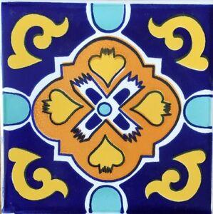 Ceramica Vietri Inserto Serigrafato A Mano 10x10