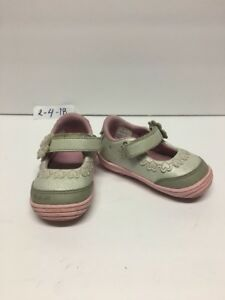 STRIDE-RITE-MARY-JANE-TODDLERS-GIRL-GRAY-AND-PINK-SIZE-US-5-EUR-21