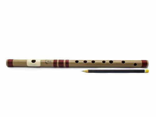Indian New Best Flutes PVC Fiber F Natural Bansuri Middle Octave Right Handed