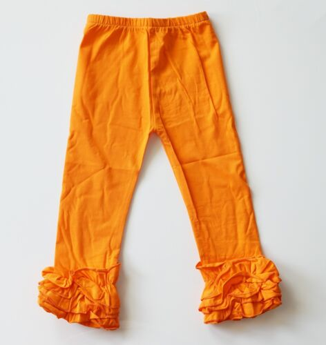 Ruffle Pants 8 years New Fast Shipping Icing Ruffle Leggings for girls 12m