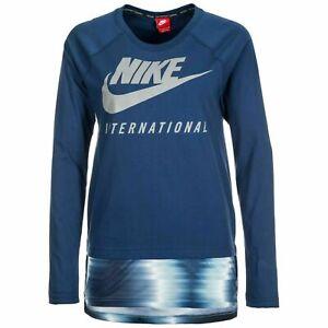 Nike International Reflective Top Long Sleeve 835537 423 Women's Medium