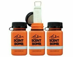 Tinks W5841 Scent Bomb Deer/Buck Game Hunting Lure + Cover Scent Dispensers