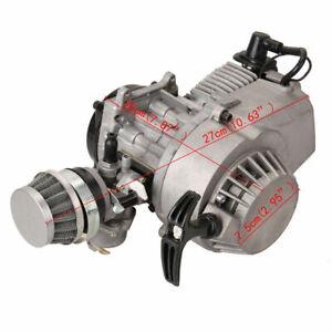 49CC-2-traits-moteur-Dirt-Bike-Cross-Pocket-Bike-Quad-Mini-engrenage-Carburateur