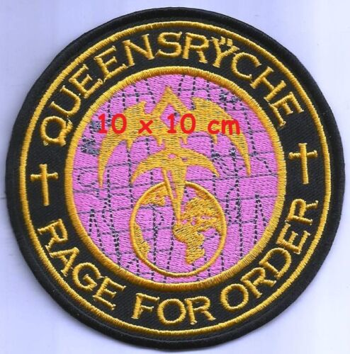 Queensryche - Rage for order patch - FREE SHIPPING !!