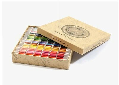 Crewel wool thread for stitch, Embroidery, Quilting 144color x 12m in a box