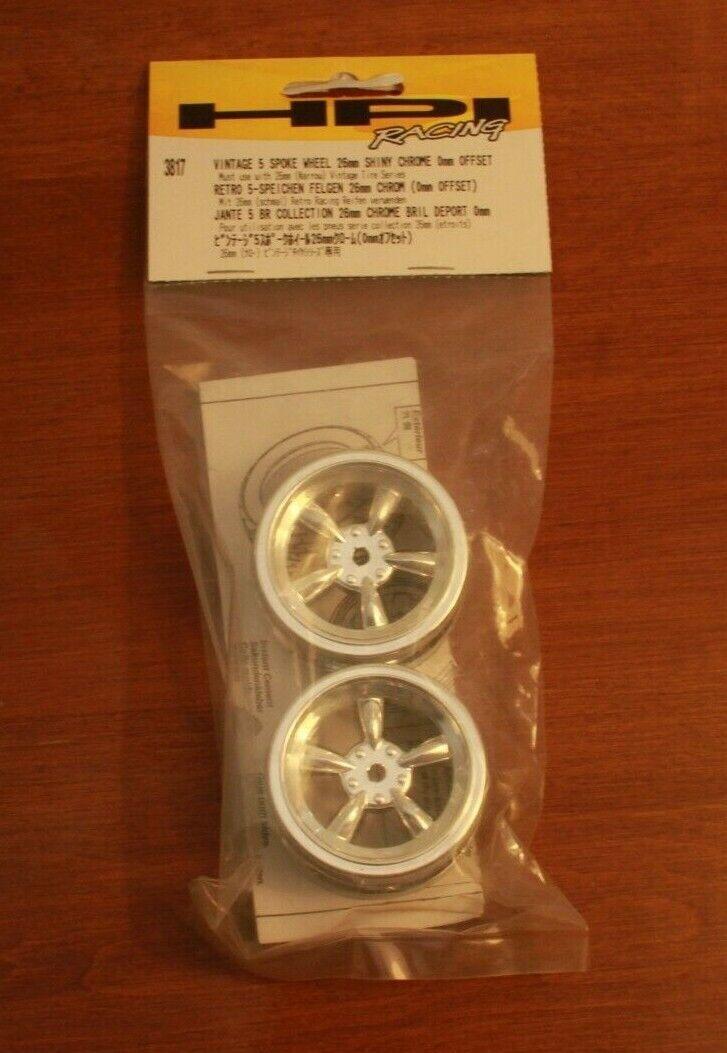 Vintage Car Wheel Chrome 31mm