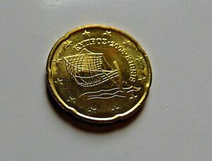 Euro CHYPRE 2008 : 20 centimes euro non circulée (de starterkit)