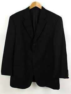 HUGO BOSS Herren Einstein/Sigma Wolle Super100 Formelle Jacke Blazer Größe 50
